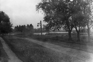 Колокол , вид на борзаковское озеро, 1968г.