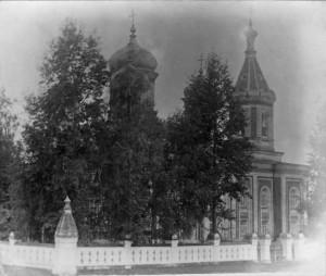 Расстригинская церковь во имя Николая Чудотворца.