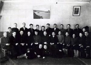 Семинар председателей с.советов Воротынского района 1952г.