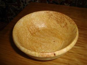 Чашка из соснового капа