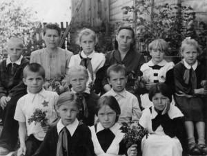 1959г. Фотогафия из семейного альбома Найдёнковой Надежды Александровны
