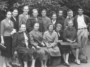 Учителя Фоминской школы. Фотография из семейного альбома Масляева Александра Юрьевича.