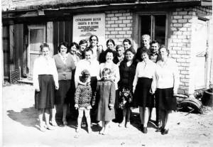 Фотография из семейного альбома Рыбкиной Надежды Михайловны.